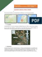 Analisis Espacial de Avalancha en Colombia