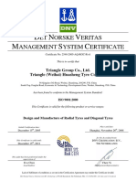 ISO9001 Provided by Triangle's Headquarter