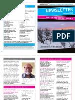 Parkinson's UK Lincoln & District Branch Newsletter Jan 2018