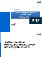 Konfigurasi Emel 1GOVUC Pada iPad Dan iPhone