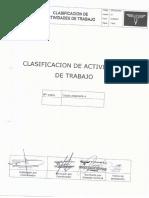 2 y 5.-DOC-SIG-003 Clasificación & Identificacion de Actividades