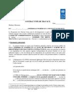 Model de Contrat Pour Travaux_FR