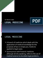 Legal Medicine Law
