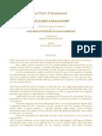 Leggenda Maggiore - Bonaventura