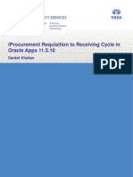 iProcurement Requisition to Receiving Cycle