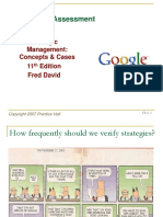 Strategic Management Fred David Chapter 4