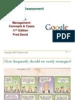 Strategic Management Fred David Chapter 4