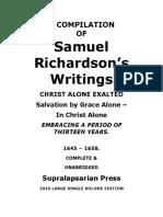 Richardson Complete works