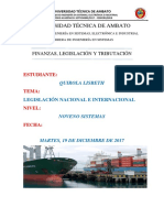 Leg is Laci on Comercio Exterior