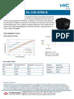Radiatoare LED SpecSheet_DL CHS 0700 B