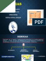 Hernias Inguinal y Femoral 2017 - Sergio