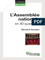 Bernard Accoyer-L'Assemblée nationale en 30 questions-La Documentation française (2012)