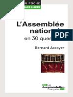 Bernard Accoyer-L'Assemblée nationale en 30 questions-La Documentation française (2012)