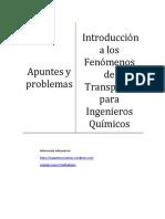 Introducción a los Fenómenos de Transporte para Ingenieros Químicos