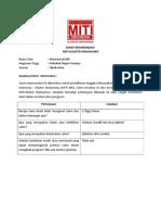 Surat Rekomendasi Dari Organisasi