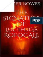 Oliver Bowes - The Signature of Lucifuge Rofocale