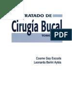 Odontologia - Tratado De Cirugia Bucal - Tomo I - Cosme Gay Escoda.pdf