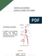 Complicaciones Macrovasculares de Dbm