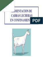 Alimentacion de Cabras Lecheras en Confinamiento