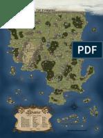 Savage Worlds - Shaintar - Map