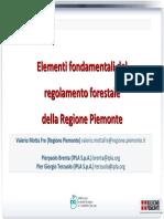 regolamento regione piemonte taglio alberi
