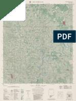 SCN Carta Topografica Matricial SÃODOMINGOS SG 22 Y a VI 2 50.000