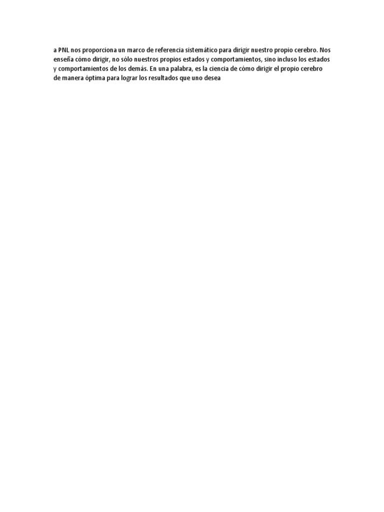 002-PNL Nos Proporciona Un Marco de Referencia Sistemático Para ...