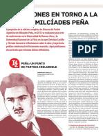 CASTILLO, Christian - Reflexiones en Torno a La Obra de Milcíades Peña