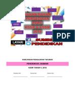RPT Pendidikan Jasmani 4 2018
