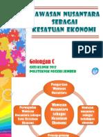 Tugas 1 Presentasi Wawasan Nusantara Sebagai Kesatuan Ekonomi Golongan c