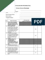 Penilaian Evaluasi-diri Program Studi