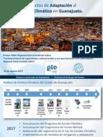 Adaptación Al Cambio Climático en Guanajuato