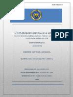 Diseño Hidrualico II