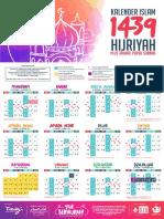 Kalender 1439 Plus Shaum - 1