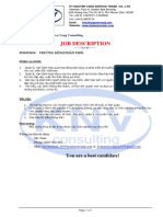 Job Description - SM
