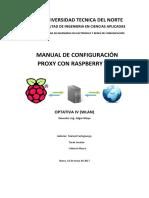 INFORME 3_Configuración Proxy Raspberry Pi 3