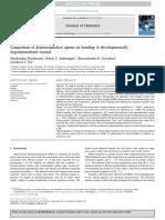 Comparison of Deproteinization Agents on Bonding