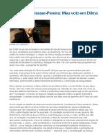 Bresser Pereira.doença Holandesa