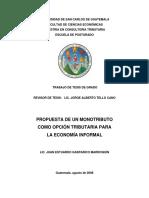 13. Monotributo-Sector Informal