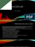 Preparación de Clases