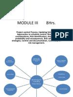 Module III Pm