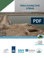 Bioslurry Increasing Growth in Fisheries