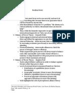 Scribd - International Relations Realism Notes