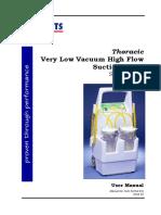 Thoracic Pump User Manual