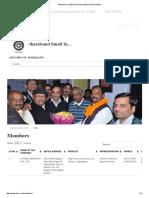 Members _ Jharkhand Small Industries Association