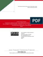 Emmerich Transparencia, Rendición de Cuentas y Participación Ciudadana