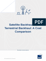 Gilat White Paper Cellular Satellite Backhaul vs Terrestrial Backhaul a Cost Comparison