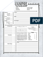 v20 - Npc Sheet