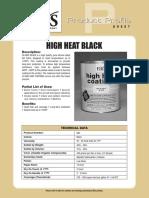 High Heat Coatings