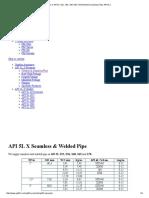 Pipe in API 5L X52, X56, X60 X65 X70 Welded & Seamless Pipe API 5LX